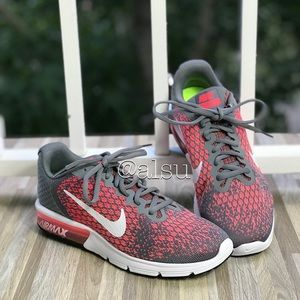 NWT Nike Air Max Sequent 2 Cool Grey W AUTHENTIC